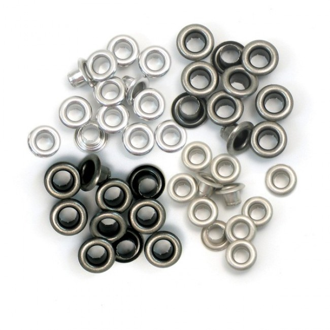60 Eyelets Metal Frio 5 mm