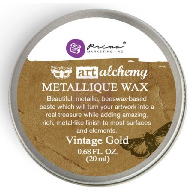 Cera Metallique Wax   Vintage Gold