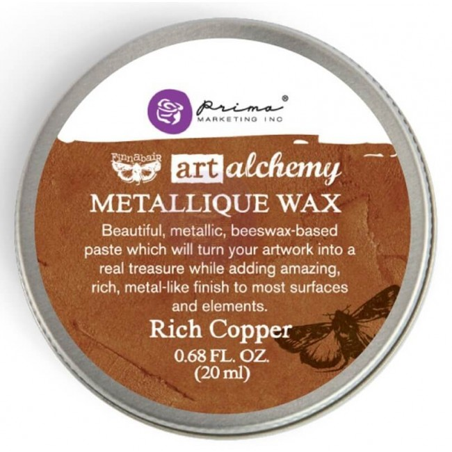 Cera Metallique Wax   Rich Copper