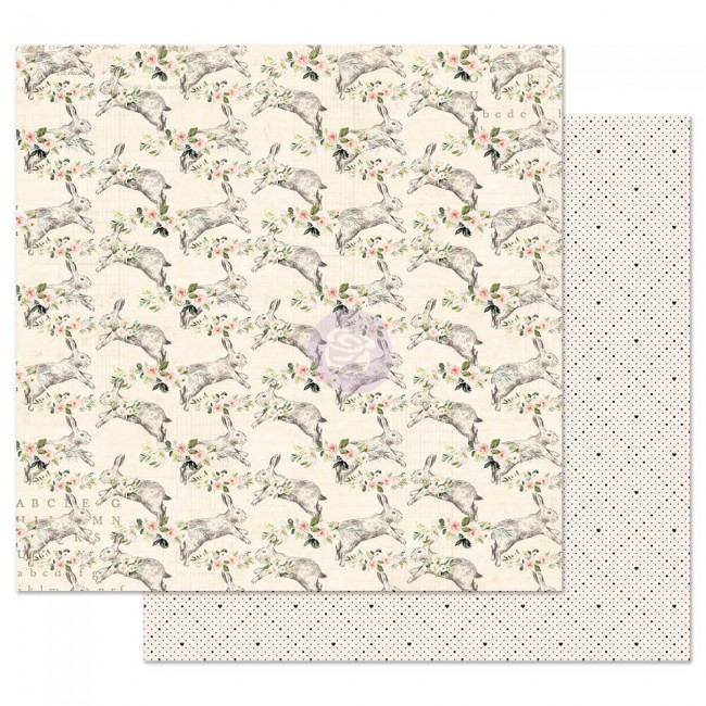 Papel Estampado Doble Cara 12x12 Spring Farmhouse Spring Farmhouse