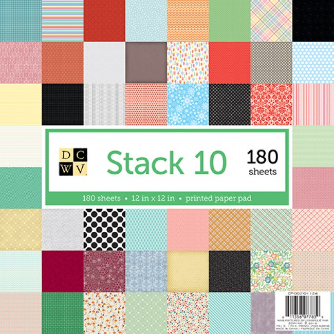 Stack 180 papeles Stack 10