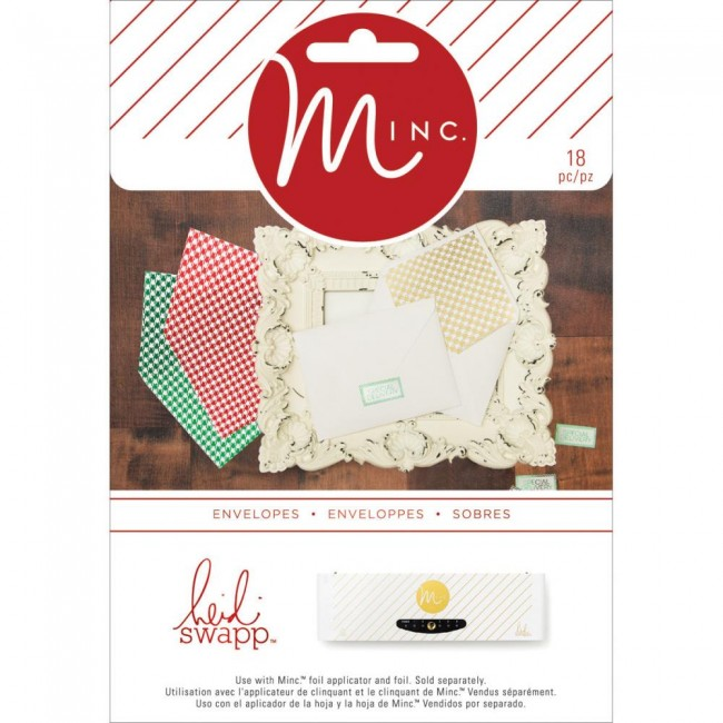 Minc Christmas Envelopes