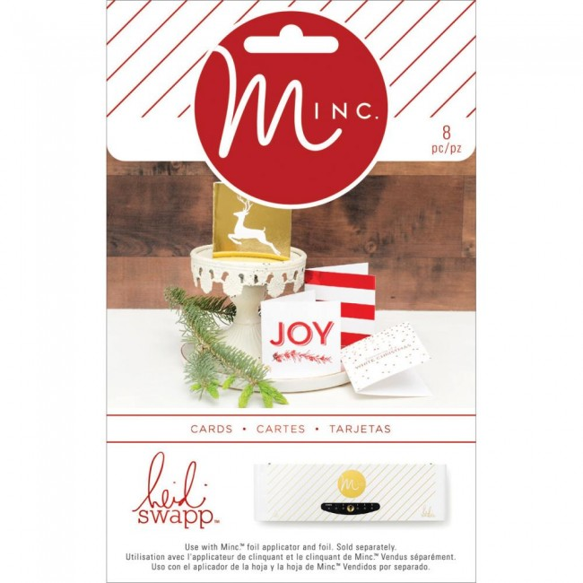 Minc Christmas Mini Gift Cards
