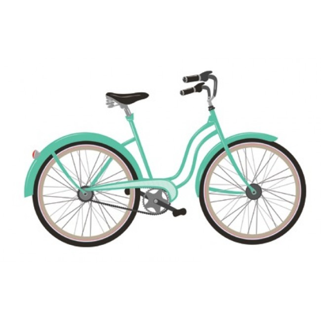 Bike Wall Decal -30% DESCUENTO