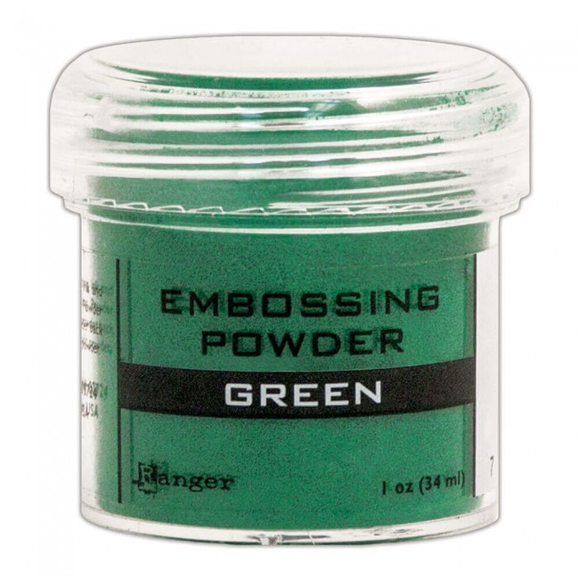 Polvos de Embossing Green
