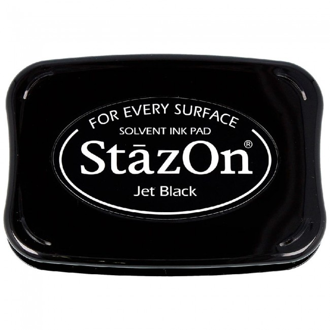 Tinta StazOn Jet Black
