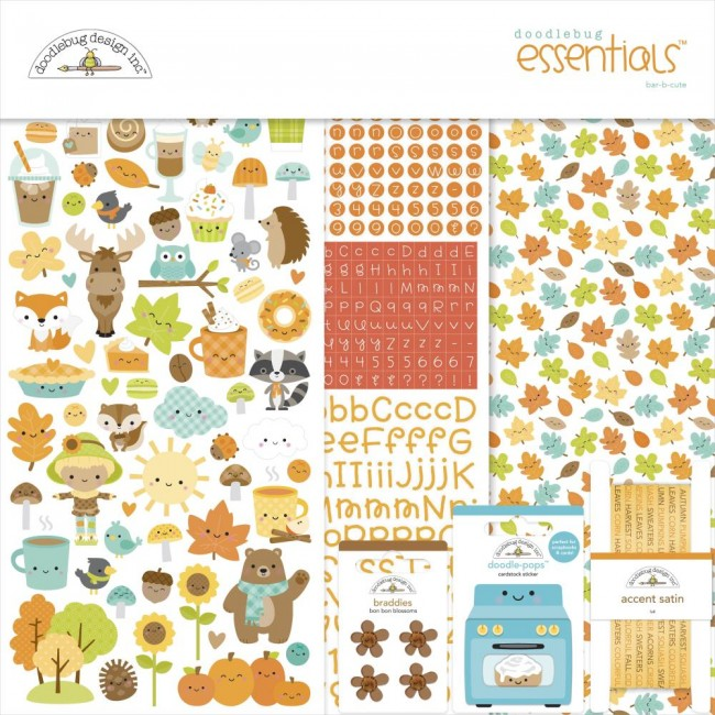 Kit Papeles Estampados 12x12 Pumpkin Spice