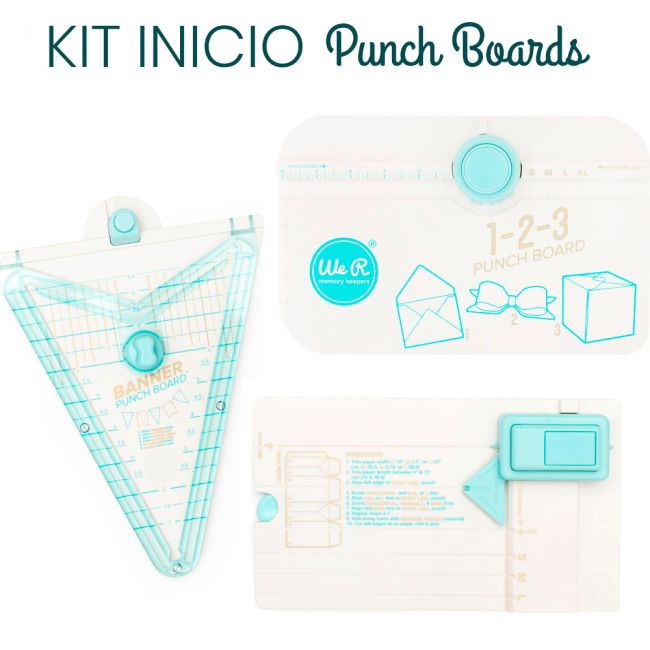 Kit Inicio Punch Boards de We R Memory Keepers