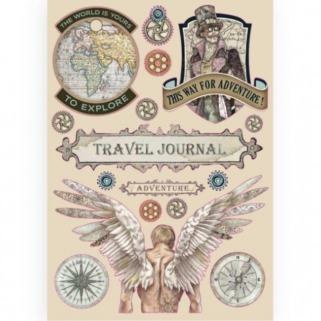 Maderitas Sir Vagabond Travel Journal