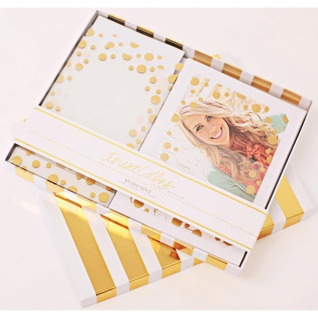 Studio Gold Overlay Card Kit