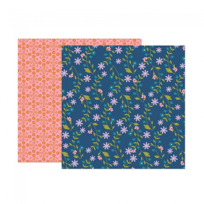 Papel Estampado Doble Cara 12x12 Wonders Paige Evans 18