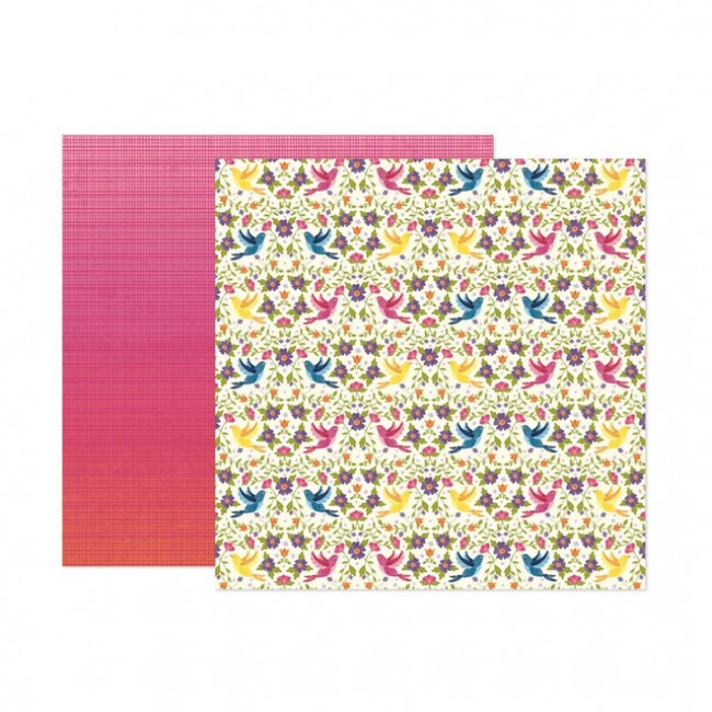 Papel Estampado Doble Cara 12x12 Wonders Paige Evans 21