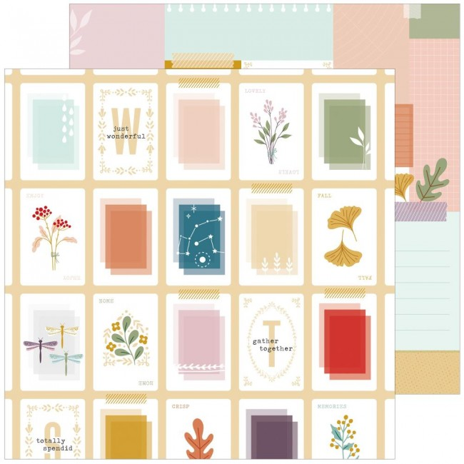 Papel Estampado Doble Cara 12x12 Days Of Splendor Totally Splendid