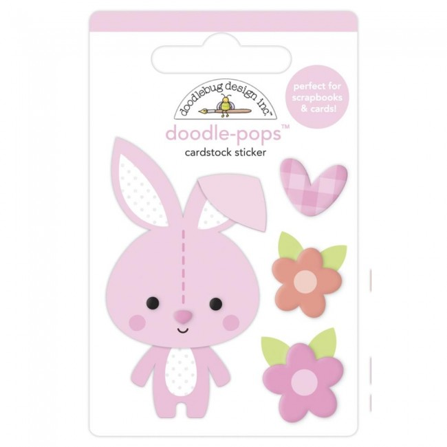 Pegatinas 3D Bundle Of Joy DO Snuggle Bunny