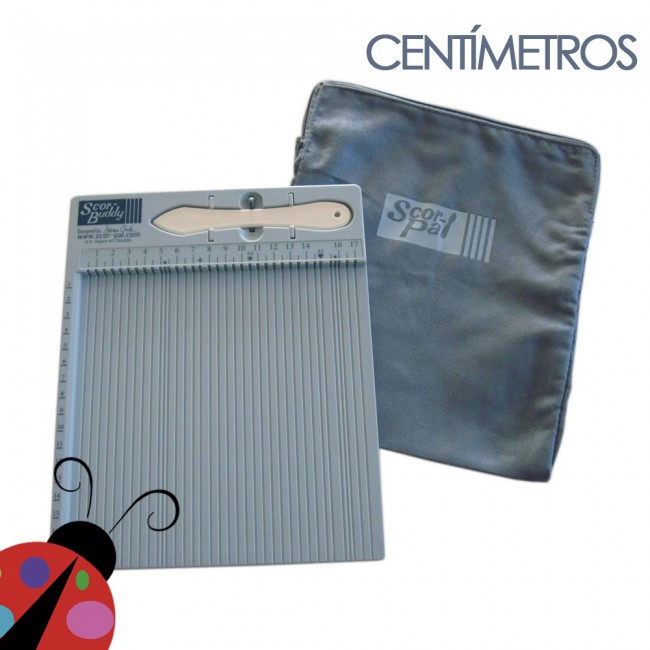 Mini Tabla de plegado Scor-Pal Centímetros