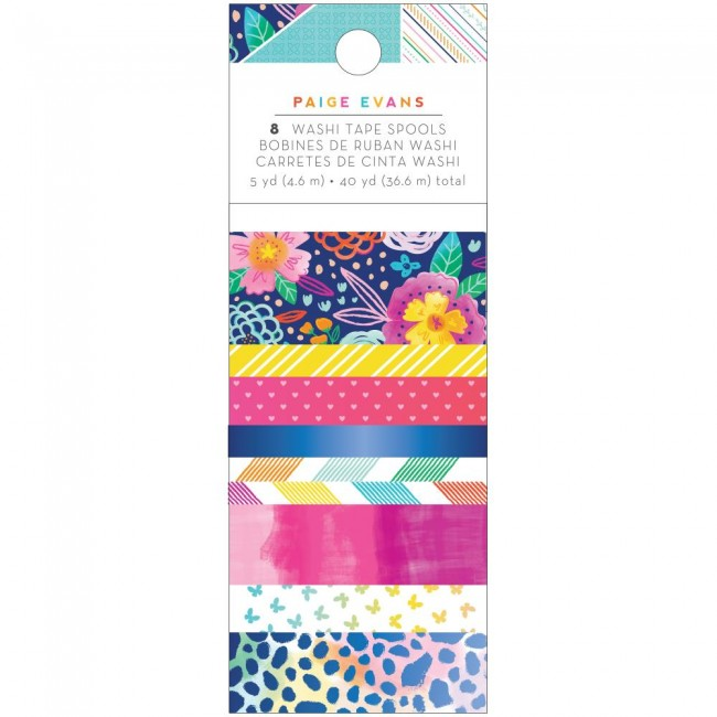 Set de Washi Tape Go To The Scenic Route Paige Evans