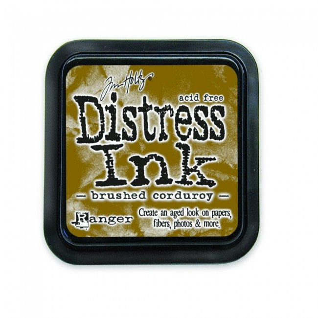 Tinta Distress Ink Brushed Corduroy
