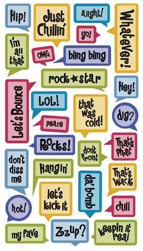 Teenager Captions Stickers