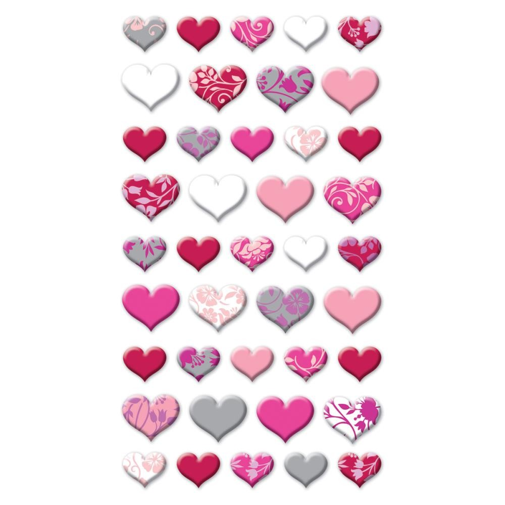 Lovely Hearts Stickers