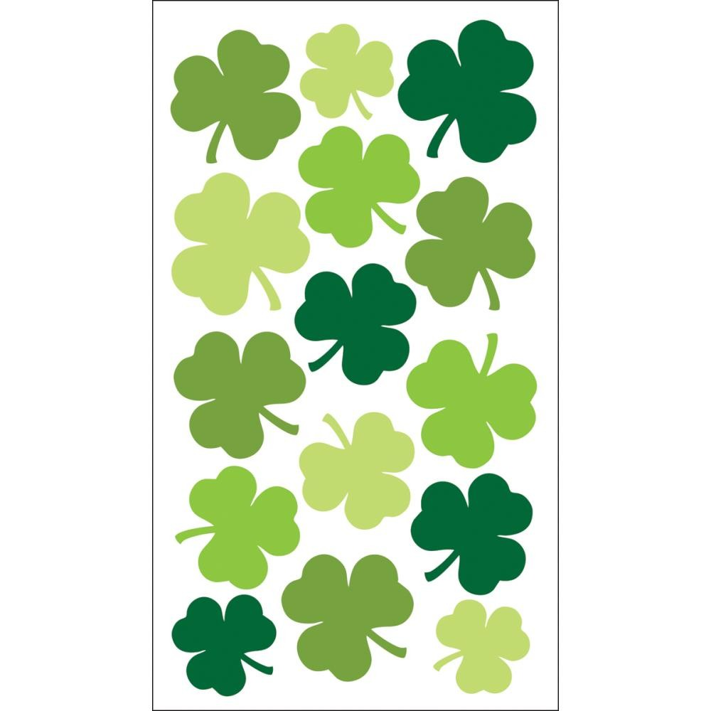 Large Shamrocks Stickers