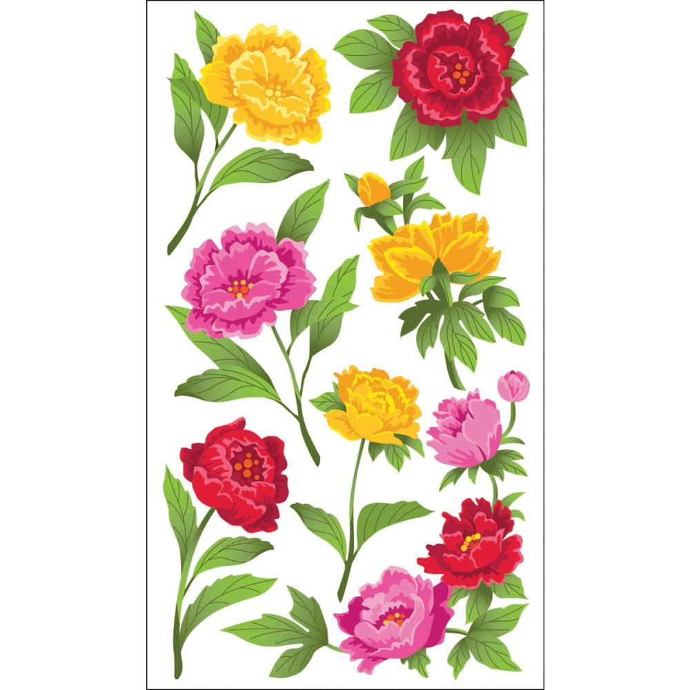 Peonies Stickers