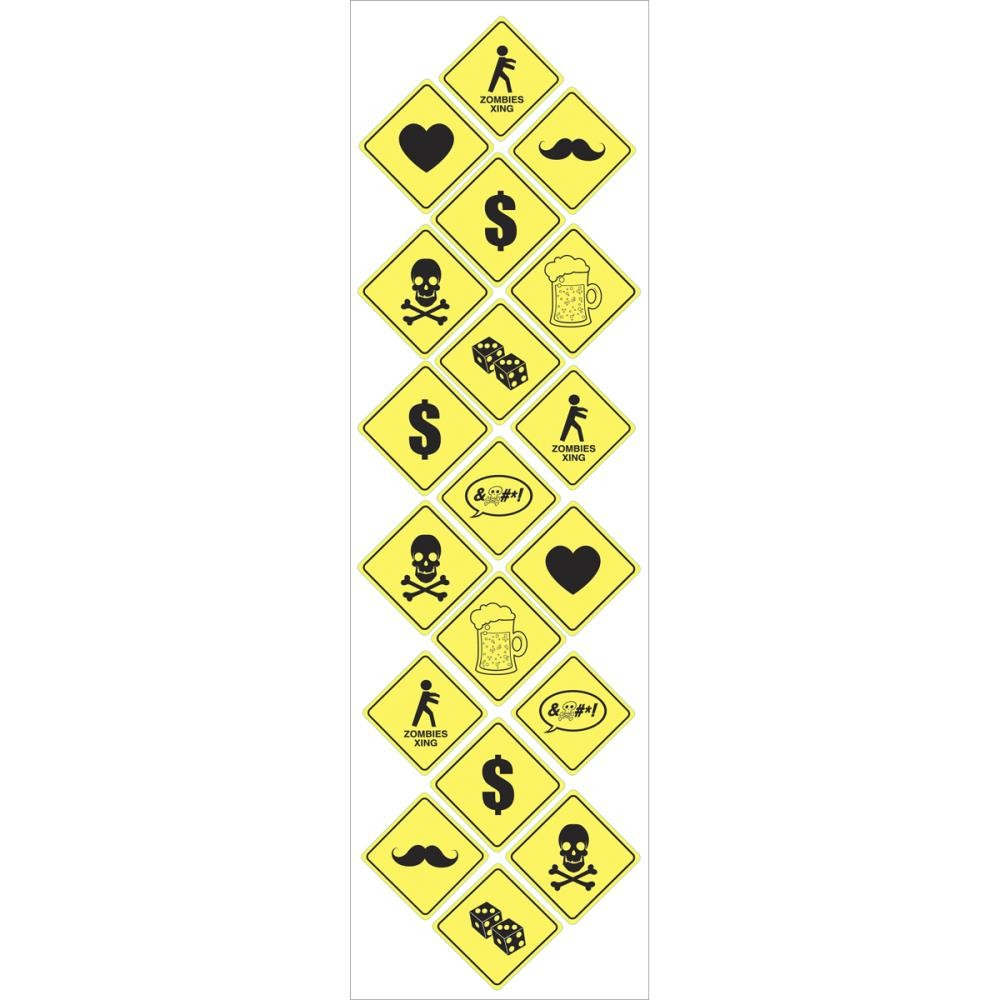 Yield Labels Stickers