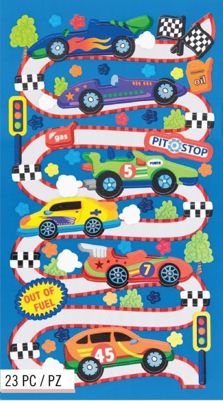 Race Car Rama Stickers