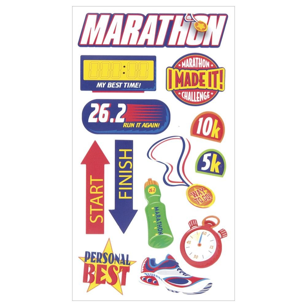 Marathon Stickers