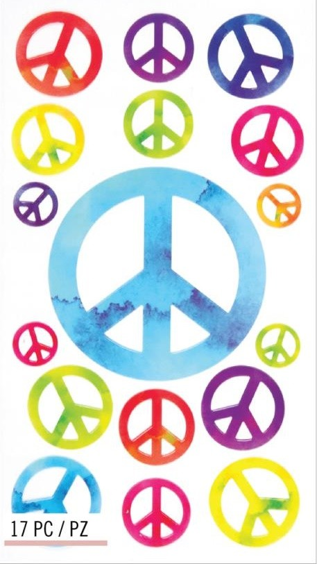 Peace Repeats Stickers