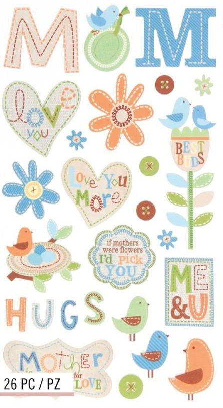 Special Mom Stickers