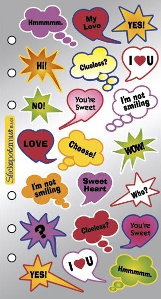 Expression Captions Stickers