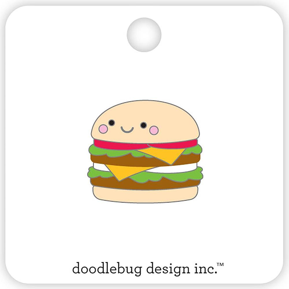 Pin So Much Pun Cheeseburger