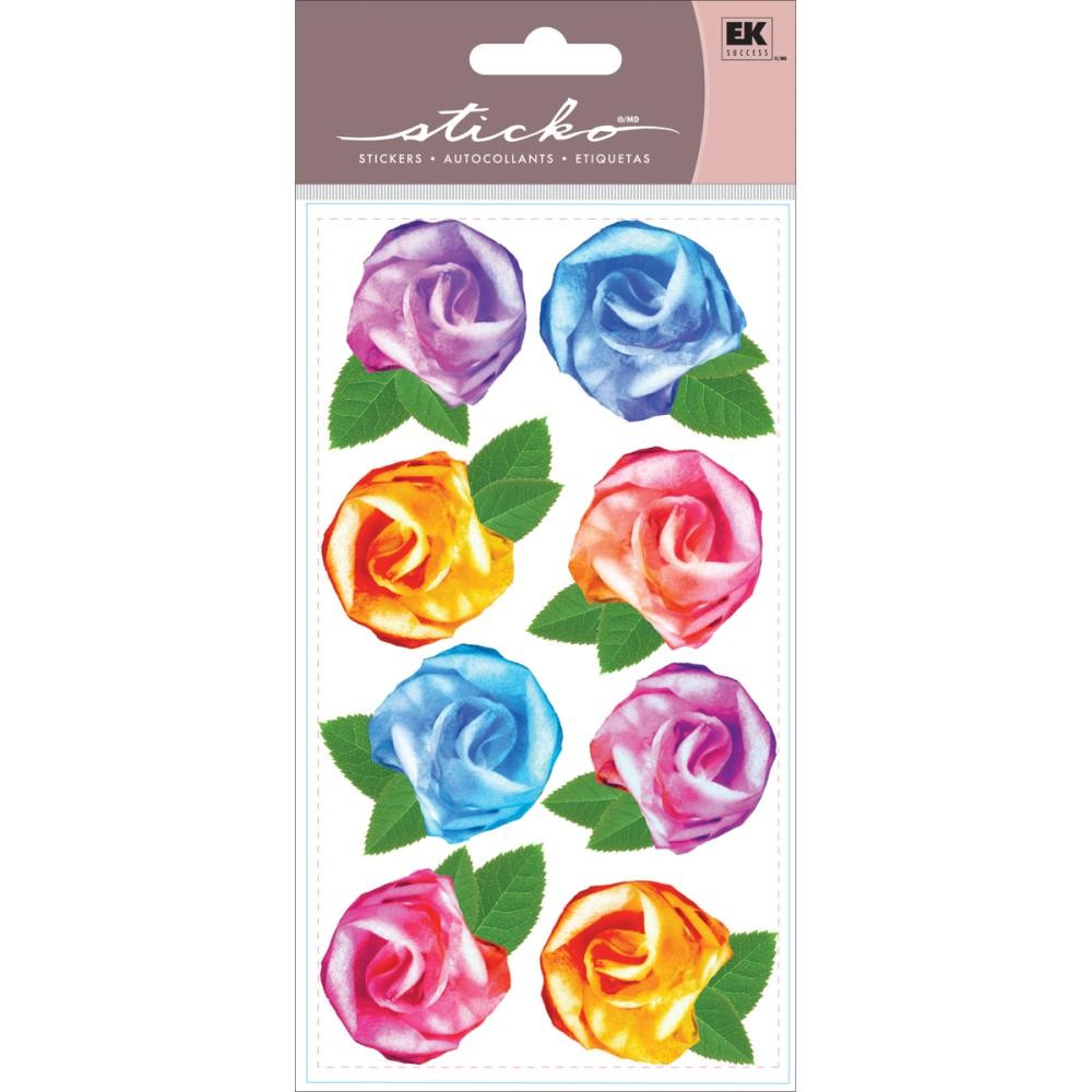 Tissue Roses Stickers