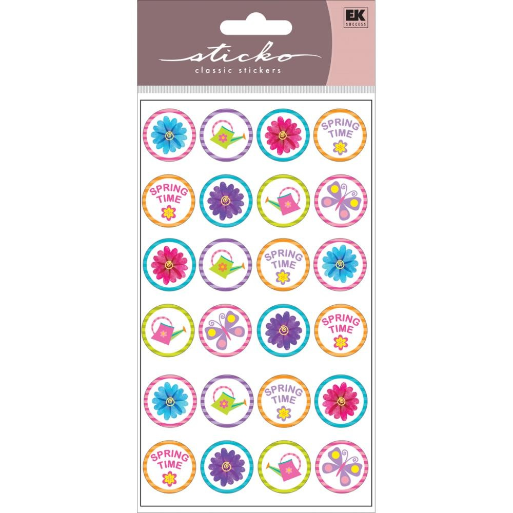 Spring Time Repeats Stickers