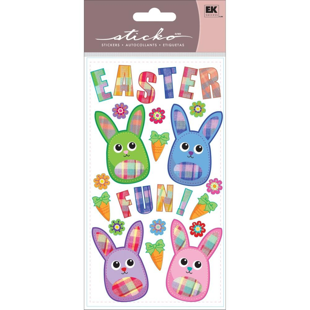 Fabric Easter Stickers