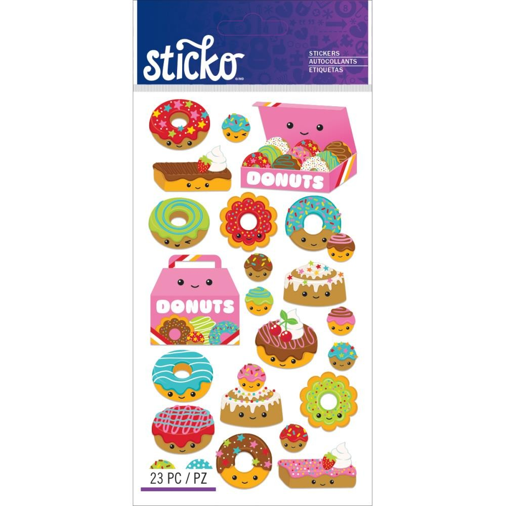 Donut Characters Stickers