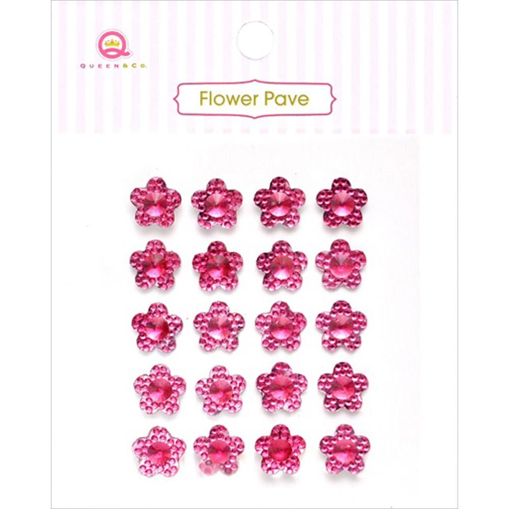 Flower Pave Pink