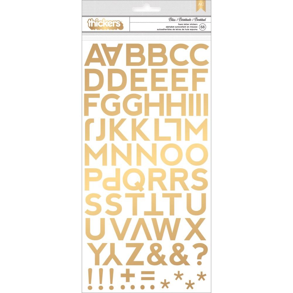 Thickers Bliss Gold Foil Foam