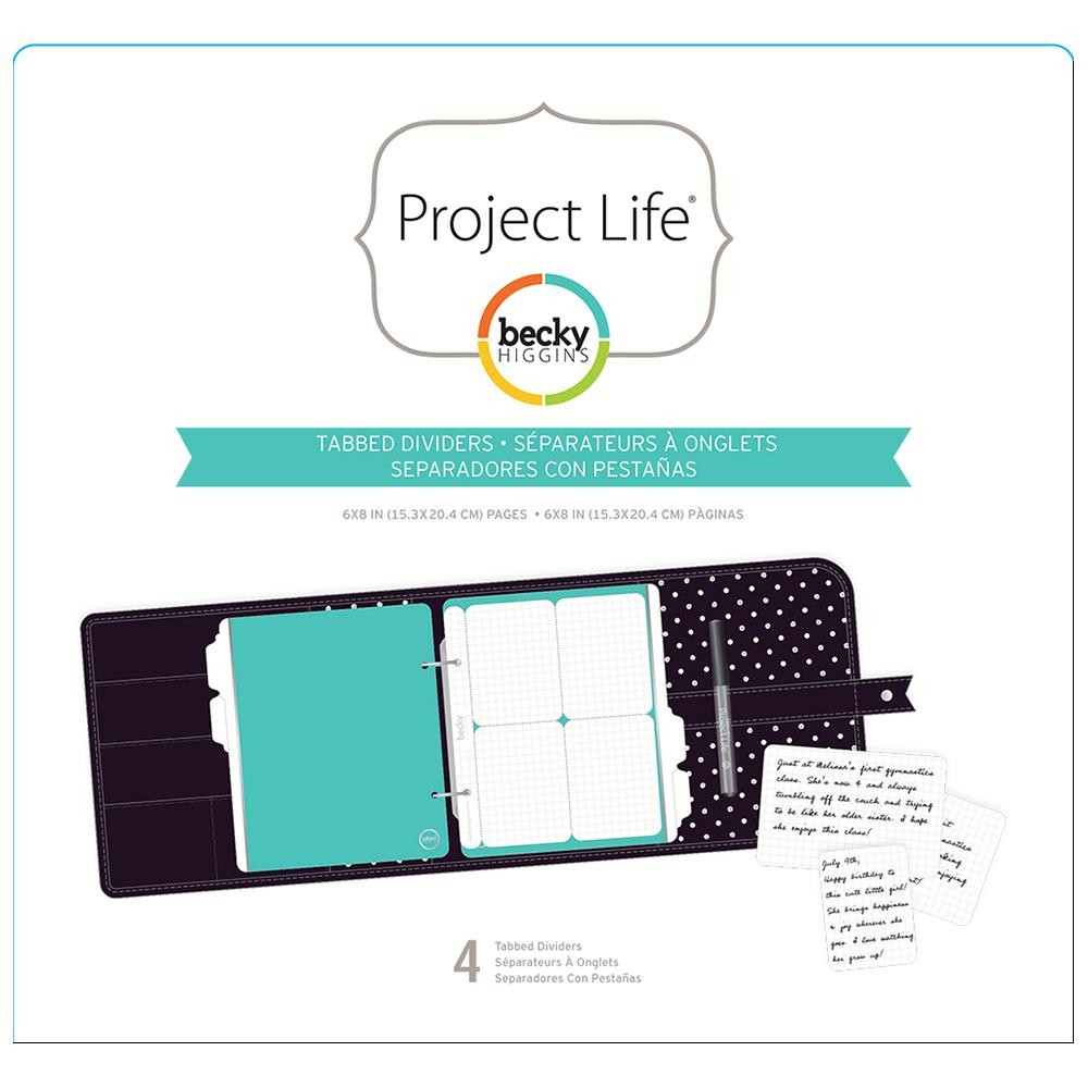 Project Life Tabbed Dividers