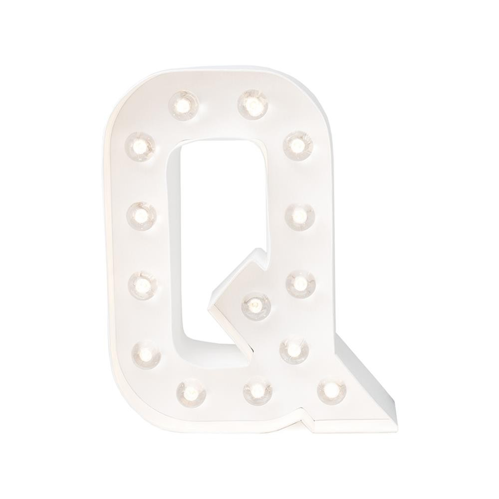 "Lettre Marquee Love 8"" Q"