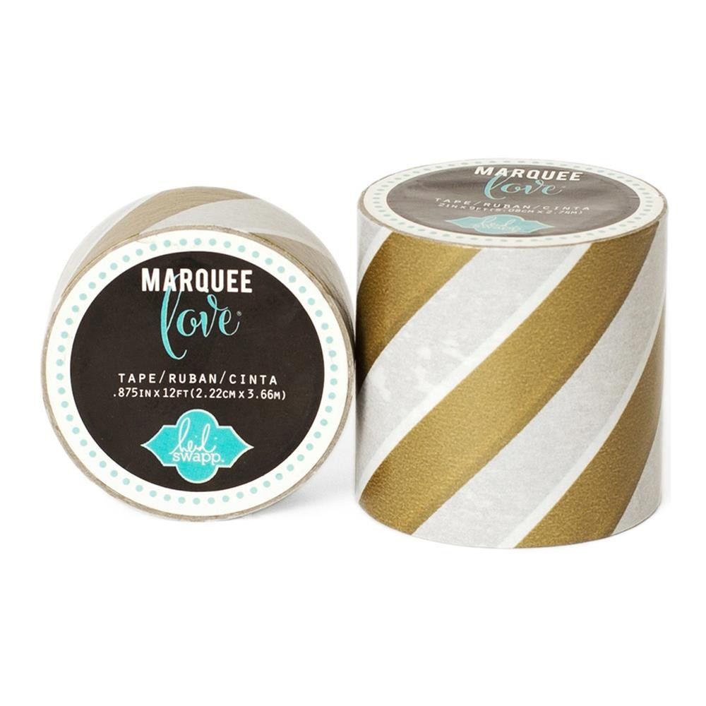 Marquee Washi Gold Foil Stripe S