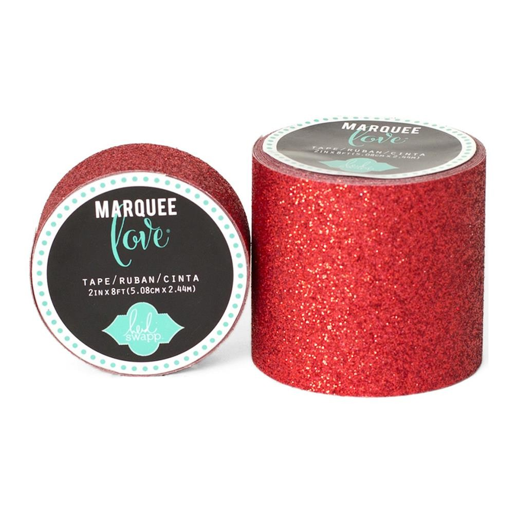 Marquee Washi Red Glitter S