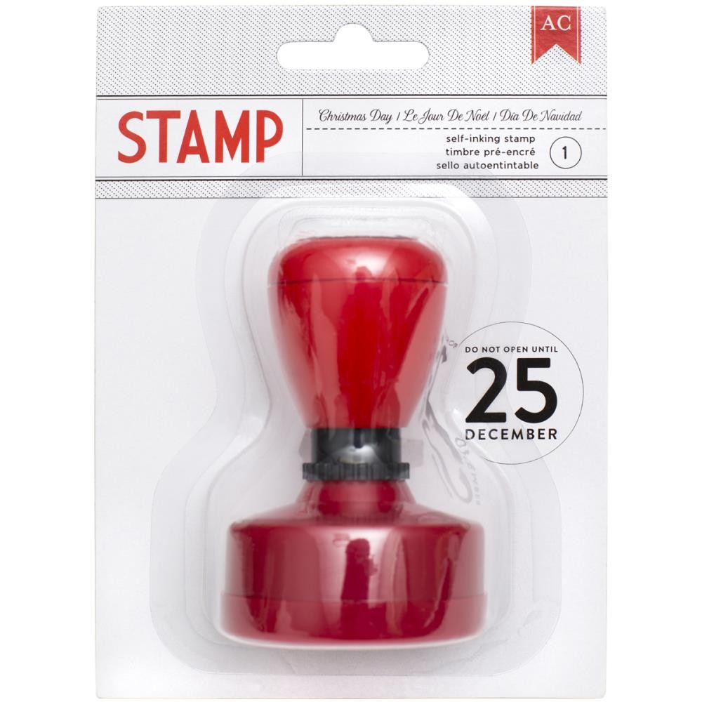 Christmas Day Self-inking stamp