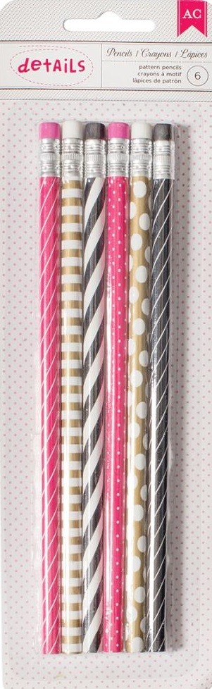 Patterned Pencils Desktop Essentials