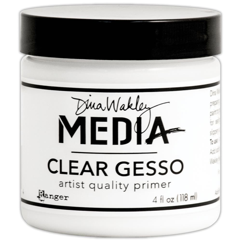 Dina Wakley Media Gesso Transparent Grand Format