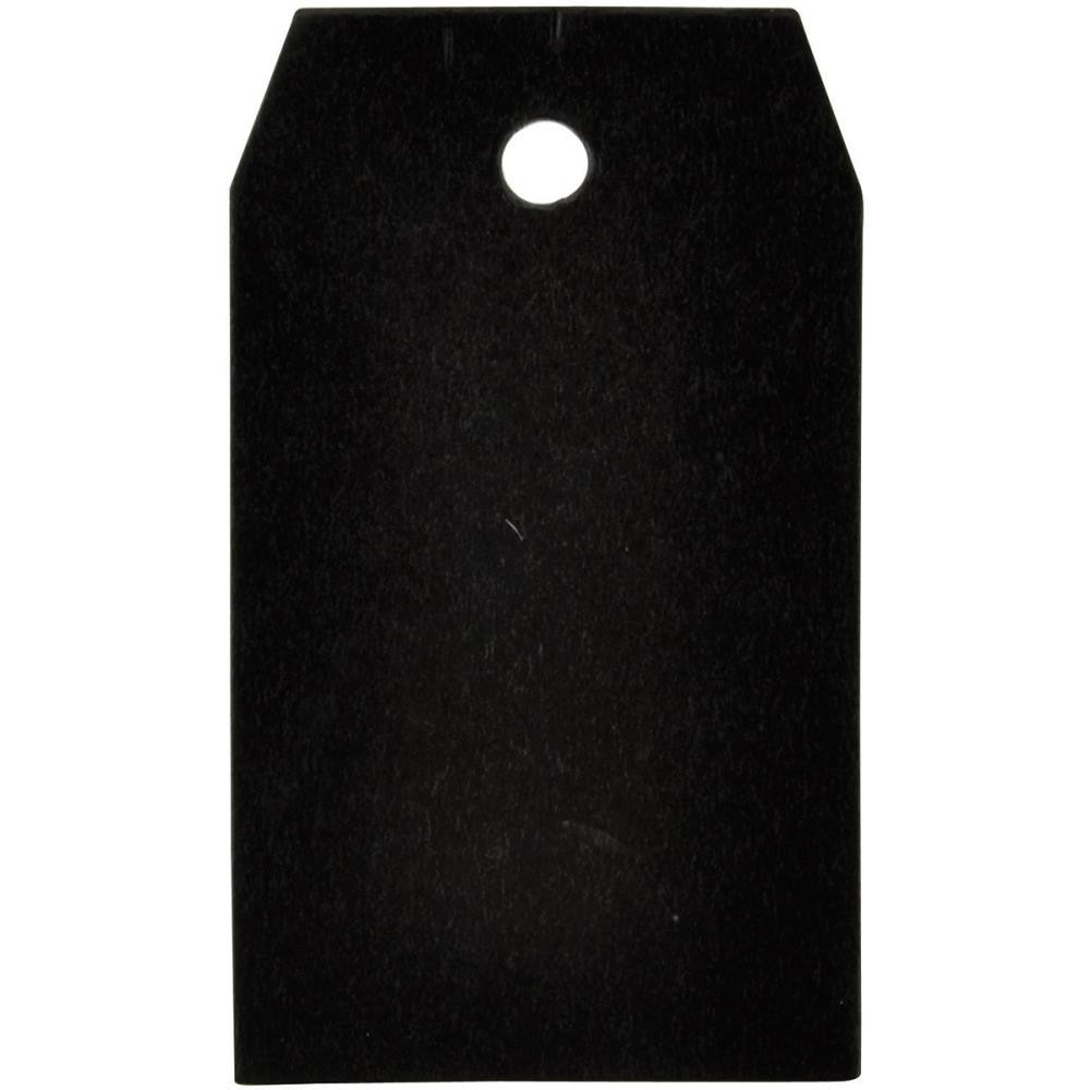 "Square 1.5""X2.75"" Chalkboard Tags"