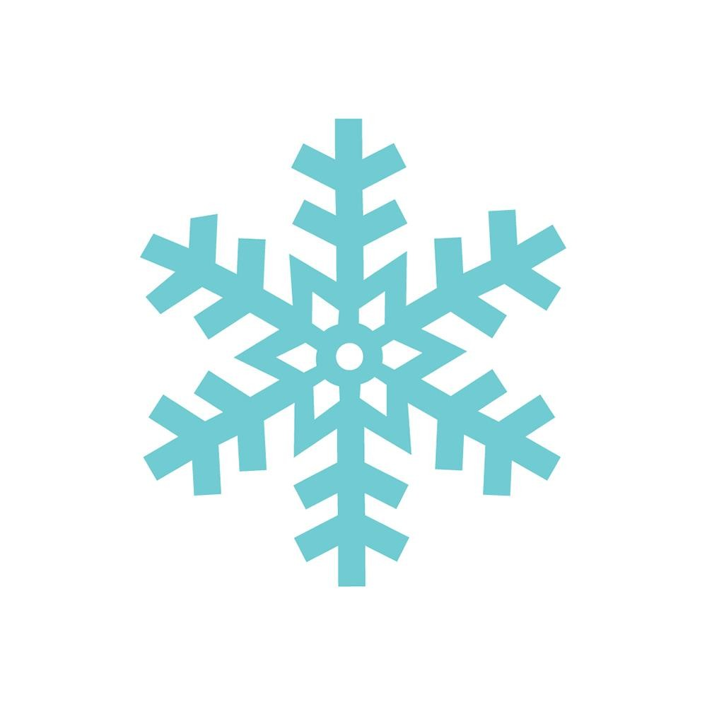 Snowflake Mini Icons Stickers