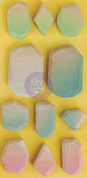 Ombre Dreams Geo Shapes Wooden