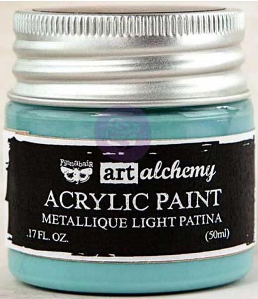 Peinture Acrylique Metallique - Light Patina