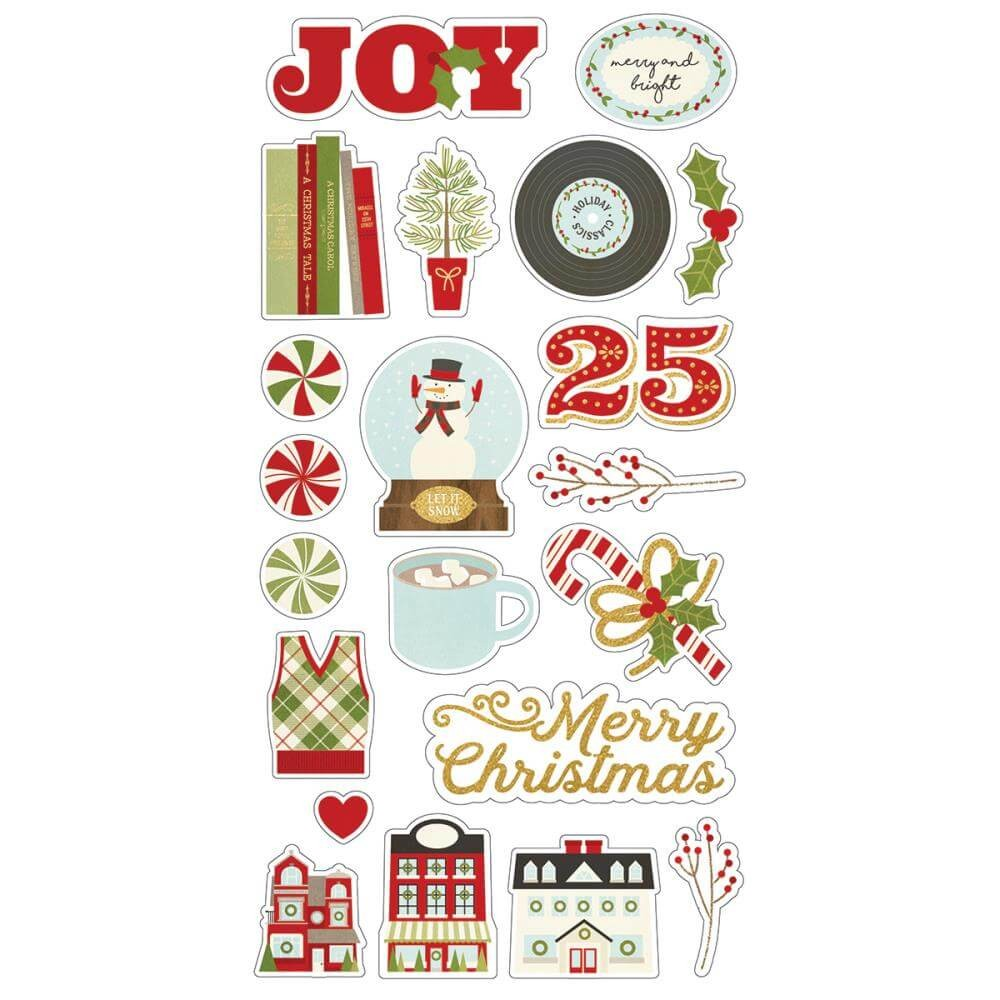 Chipboard Classic Christmas